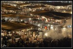 Jemaa El Fna in the Evening, Marrakech
