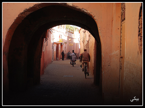 The Medina, Marrakech, Morocco