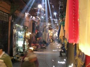 A Street in the Medina, Marrakech