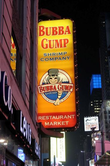 Bubba Gump Restaurant, New York