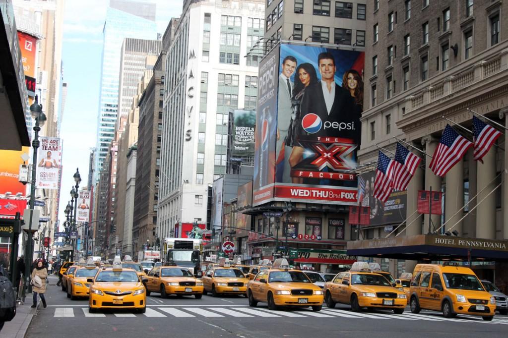 Taxi al Madison Square Garden, New York