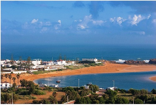 The Beach at Oualidia, South of Casablanca, Morocco