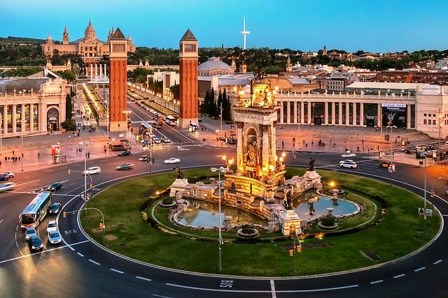 Plaza de España, Barcelona, Spain