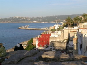 View from the Kasbah, Tangier