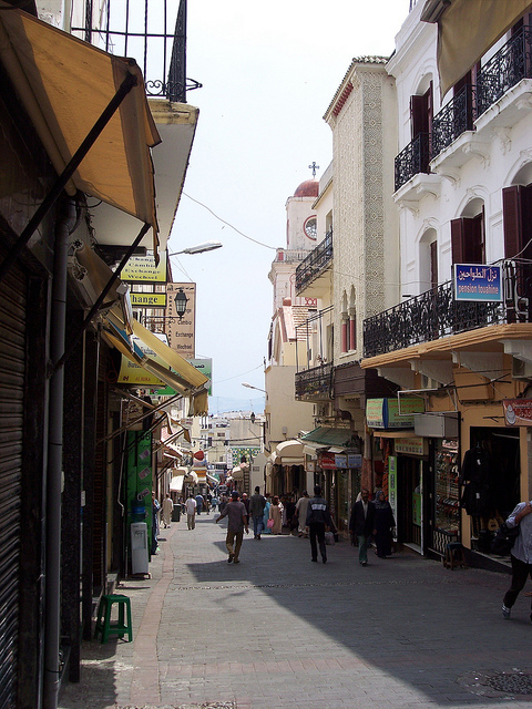 Walking in the Medina, Tangier