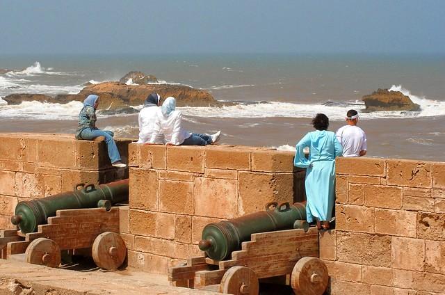 Chilling in Essaouira, Morocco