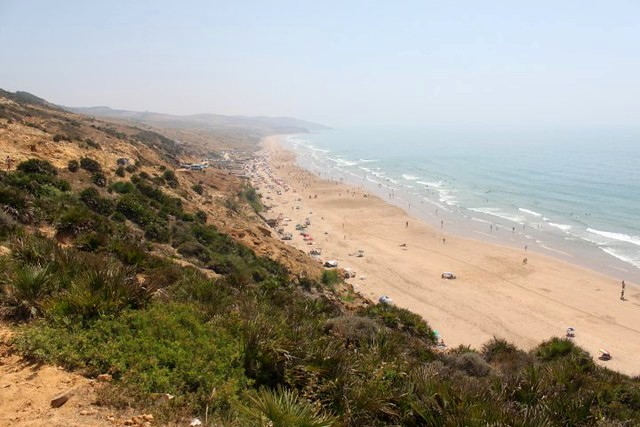 Paradise Beach, South of Asilah, Morocco