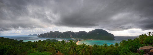 From the Viewpoint: Phi Phi Island