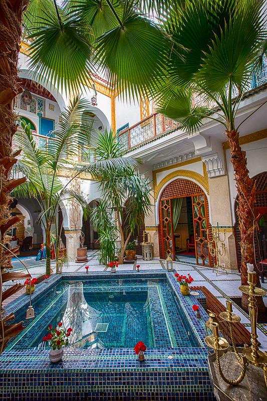 Riad, Marrakech, Morocco