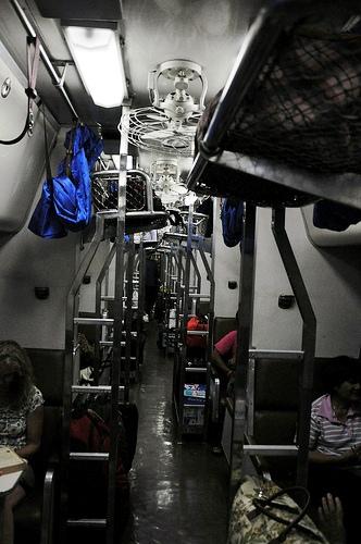 A Sleeping Car, Thailand Railway