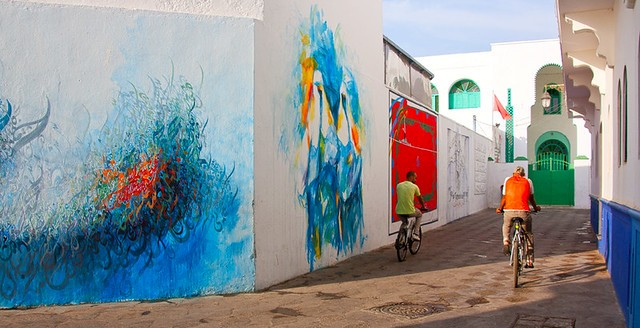 Street Art, Asilah, Morocco