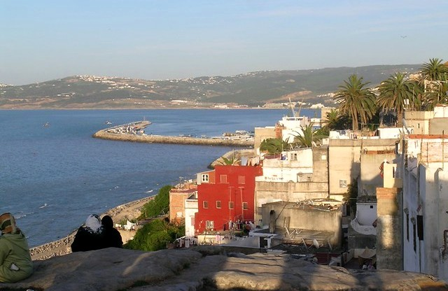 Tangier, View from the Kasbah, Morocco