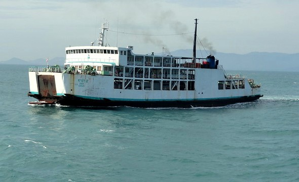 Raja Ferry at Thong Sala, Koh Phangan, Thailand