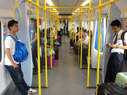 A City Line Train of Airport Air Link, Bangkok