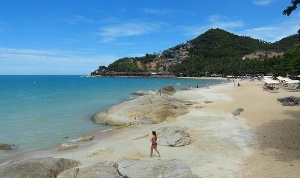 Chaweng Noi Beach, south of Chaweng main beach, Koh Samui, Thailand