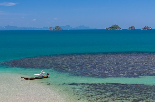 Colorful Sea, Koh Samui, Thailand