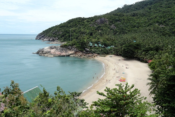 Thaan Sadet Beach, East Coast of Koh Phangan