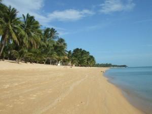 The Beach at Maenam in Koh Samui