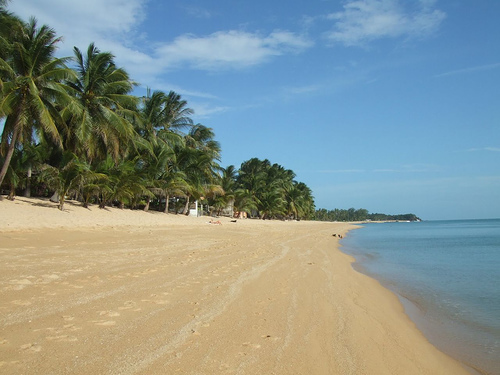 The Beach at Maenam in Koh Samui