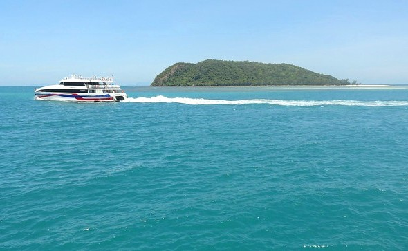 Lomprayah High Speed Catamaran, Thong Sala Pier, Koh Phangan, Thailand