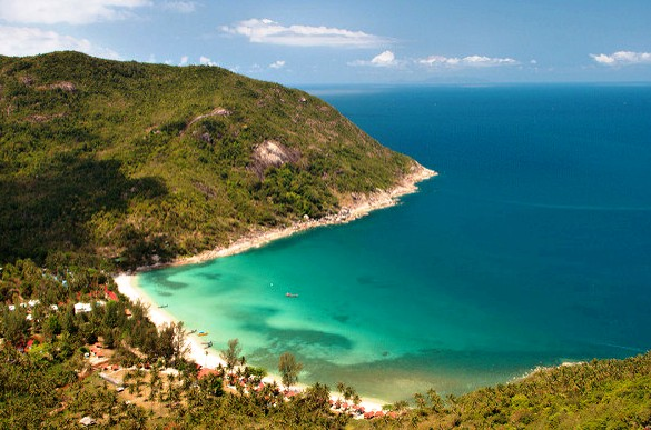 Panoramic View of Bottle Beach, Koh Phangan