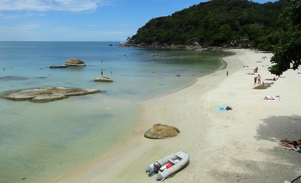 The Beach at Crystal Bay (Thong Ta Kian), Koh Samui, Thailand
