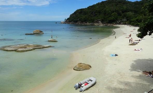 The Beach at Crystal Bay (Thong Ta Kian), Koh Samui, Thailand