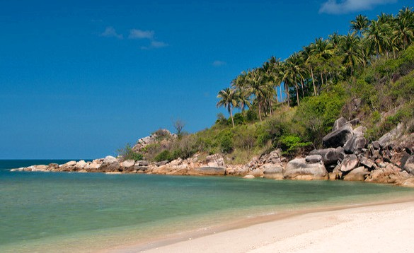 View of Bottle Beach, Koh Phangan