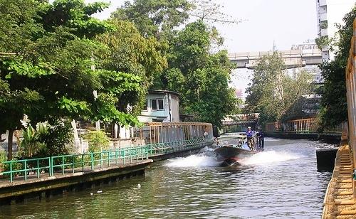 Bangkok, Klong Saen Saep