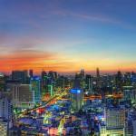 <b>Bangkok. Guida ai Quartieri ed agli Hotels Più Belli. La Sicurezza ed il Tempo.</b>