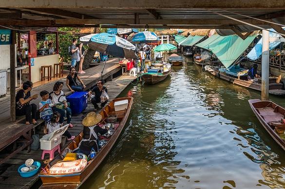 Canal Tour, Taling Chan Floating Market, Bangkok