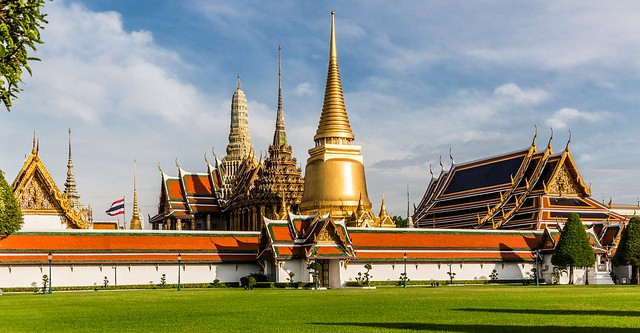 Grand Palace Complex, Rattanakosin Island, Old City, Bangkok, Thailand