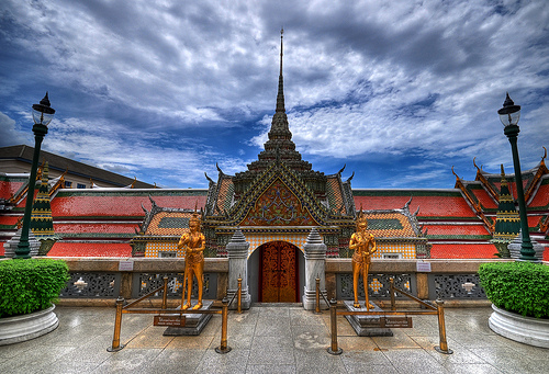 A Photo of Grand Palace in Bangkok, Thailand
