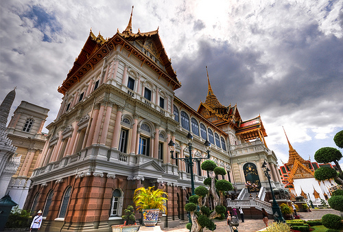 Main Building of the Grand Palace in Bangkok, Thailand