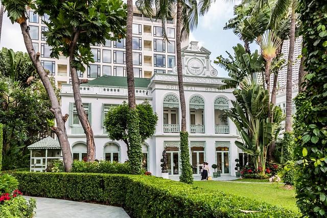 Historic Oriental Hotel, Riverside, Bangkok, Thailand
