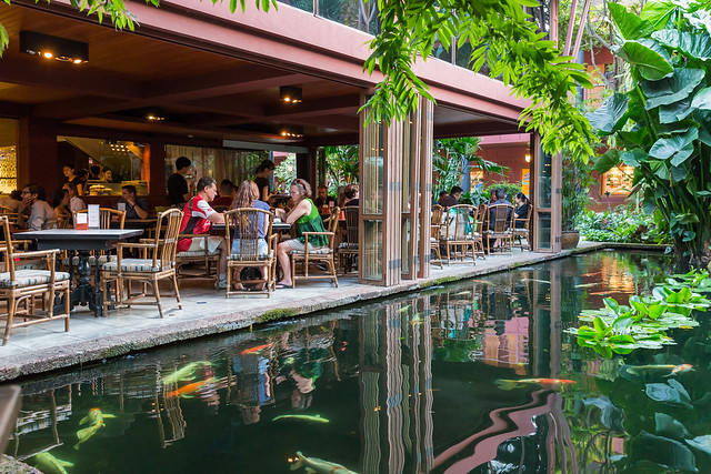 Jim Thompson House Cafe, near Siam Square, Bangkok, Thailand