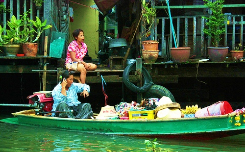 A Klong in Thonburi, Bangkok