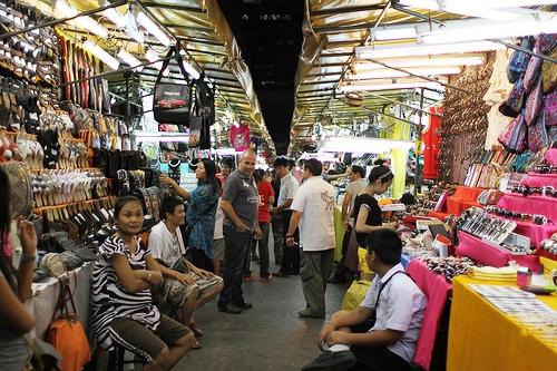 A Photo of Patpong Night Market in Bangkok