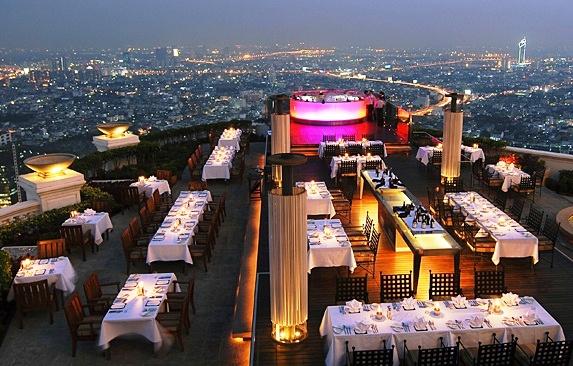 Bangkok. Cosa Fare la Sera? Guida ai Migliori Rooftop Restaurants & Skybars