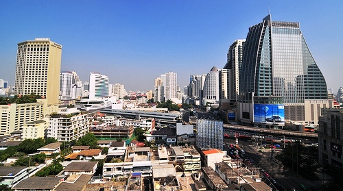 A Photo of Sukhumvit District in Bangkok