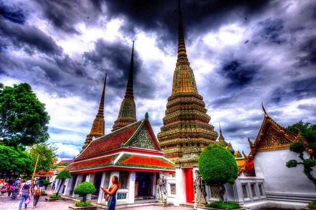 Wat Pho, Rattanakosin Island, Old City, Bangkok, Thailand