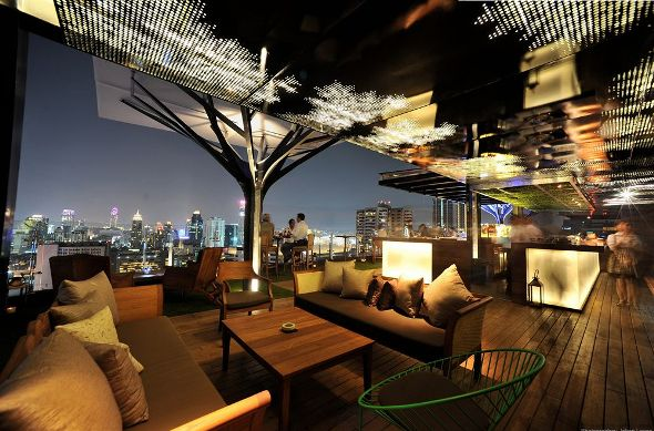 Above Eleven Rooftop Bar and Restaurant, Fraser Suites Sukhumvit Serviced Apartments in Bangkok, Thailand