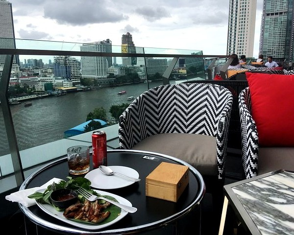Lunch at ICONSIAM, Bangkok, Thailand