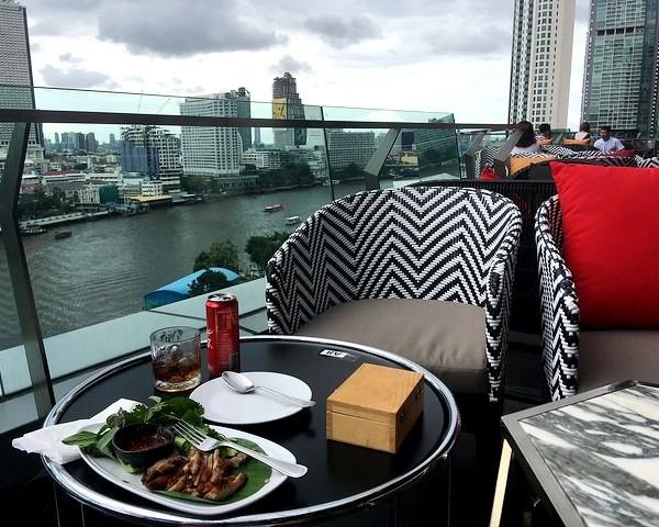 Lunch at ICONSIAM, Bangkok, Thailand
