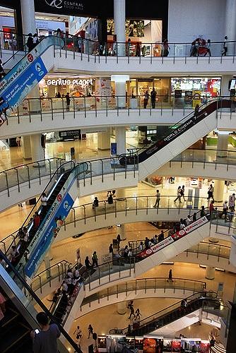 CentralWorld Shopping Mall, Bangkok, Thailand