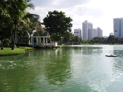 Lumpini Park, Bangkok by Andrea Bicini