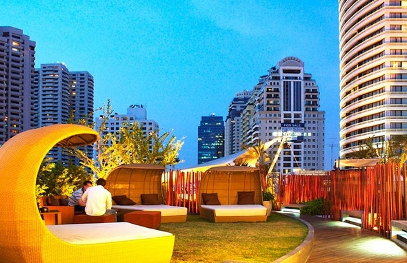 Nest Rooftop Lounge, Le Fenix Hotel, Bangkok, Thailand
