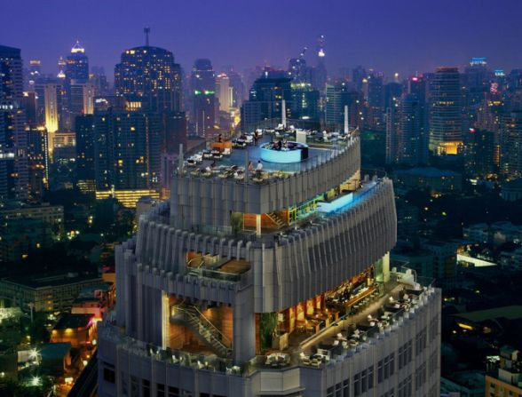 Octave Rooftop Lounge & Bar, atop Marriott Sukhumvit Hotel