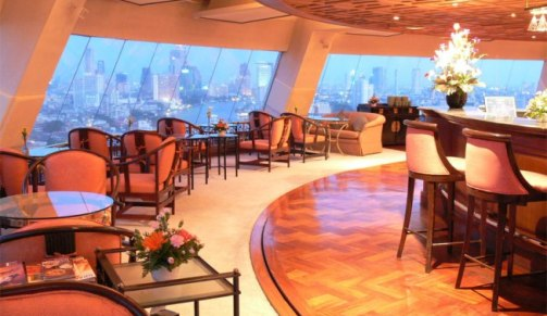 Sky View 360 Revolving Restaurant, Grand China Hotel, Bangkok, Thailand