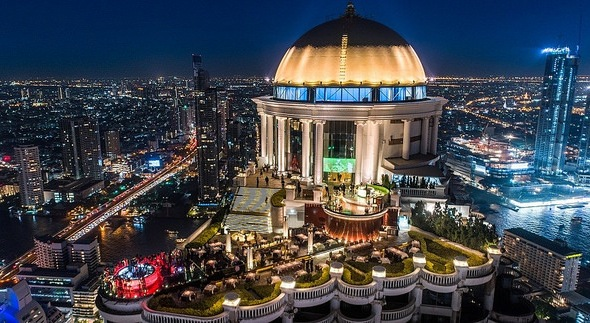 Sirocco Restaurant and Sky Bar, Lebua Hotel at State Tower, Bangkok, Thailand